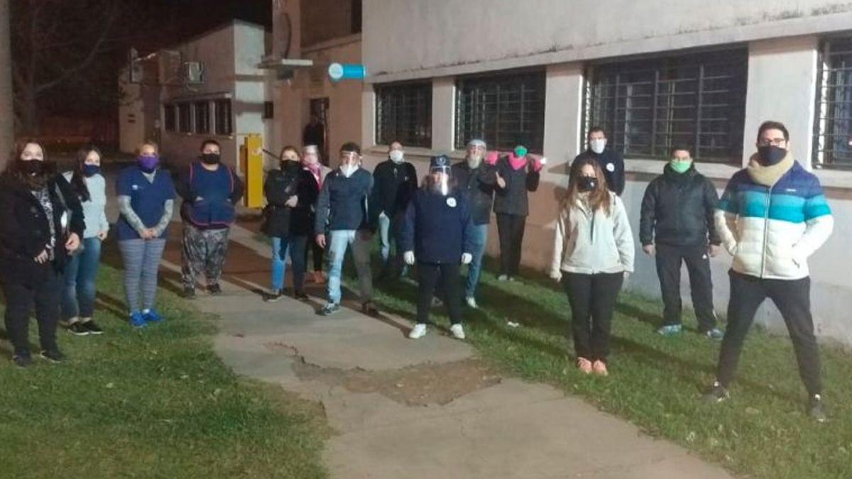 La Municipalidad asistió a 60 personas en situación de calle en el fin de semana más frío del año