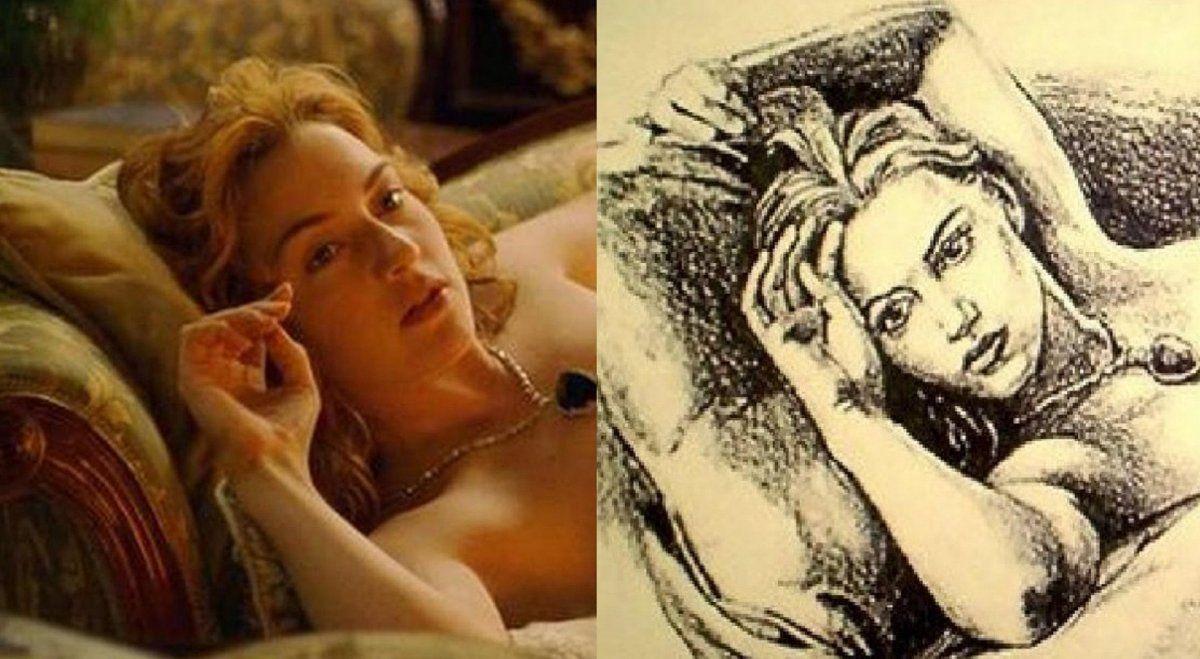Quién es el autor del retrato de Rose en Titanic