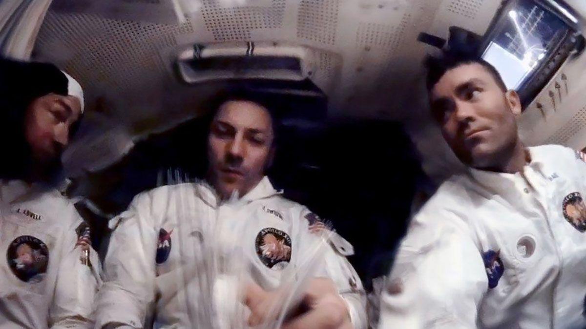 Los astronautas Lovell