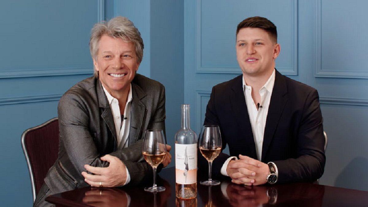Laura Catena y Bon Jovi en un especial de Wine Spectator por el Día del Padre