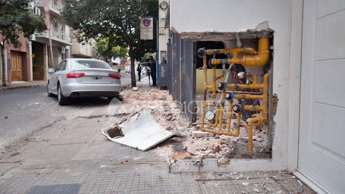 El incidente ocurrió este miércoles por la siesta en inmediaciones deSan Martín y Zaspe.