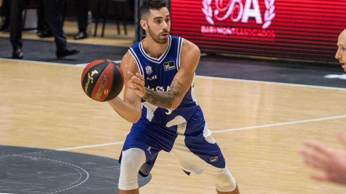 El base marplatense de 24 años aportó 20 puntos en poco menos de media hora en cancha en la victoria del Baskonia por la Liga Endesa.