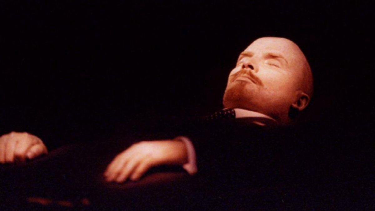 La momia de Vladímir Ilich Uliánov