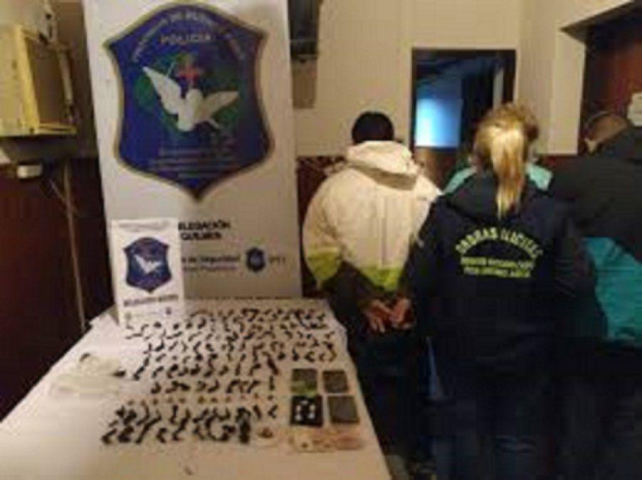 Personal de la Delegación Departamental de Investigaciones del Tráfico de Drogas Ilícitas y Crimen Organizado de Quilmes