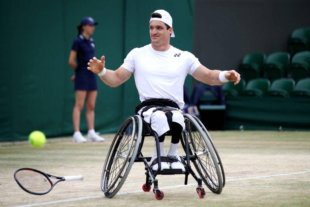 El Lobito se quejó en Twitter y la organización del US Open revirtió su decisión de no incluir al tenis adaptado.