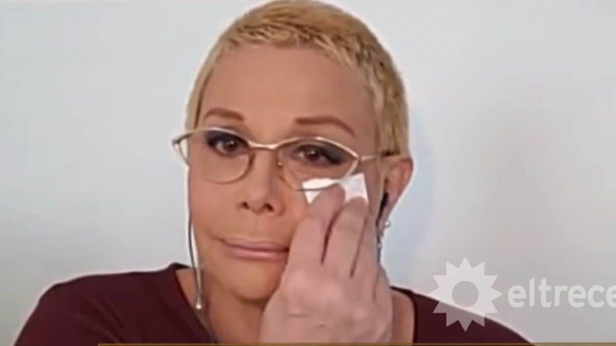 Carmen Barbieri rompió en llanto al ver un video de Fede Bal