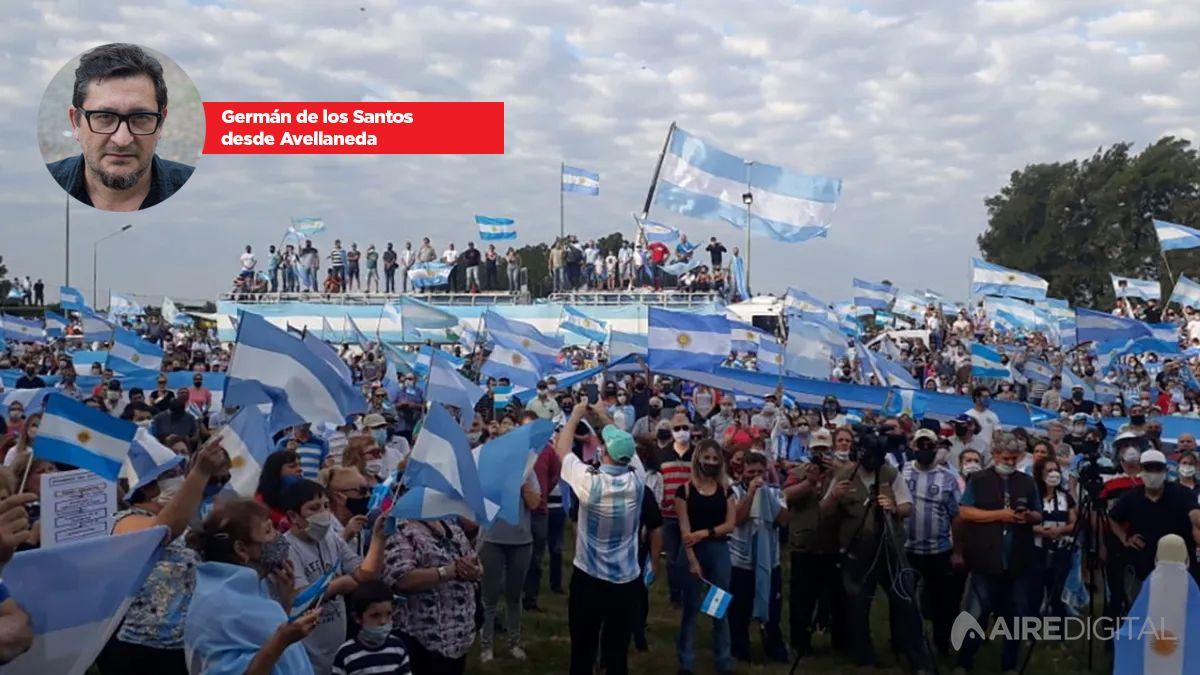 Cerca de 15.000 personas se manifestaron en Avellaneda contra la expropiación de Vicentin