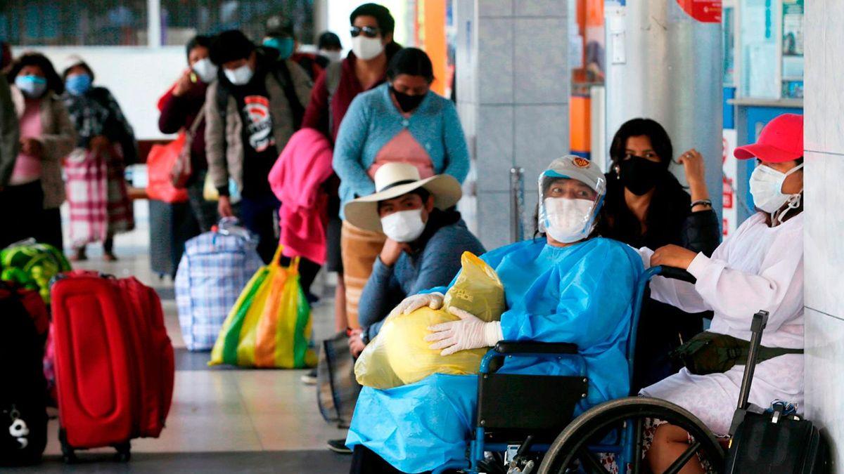 Perú es el sexto país con más casos positivos de coronavirus.