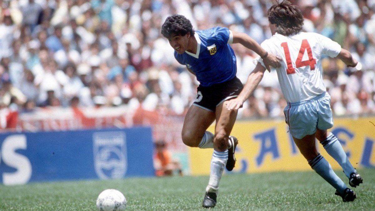 El Día del Futbolista pasará a ser el 22 de junio, por el gol de Diego a los ingleses