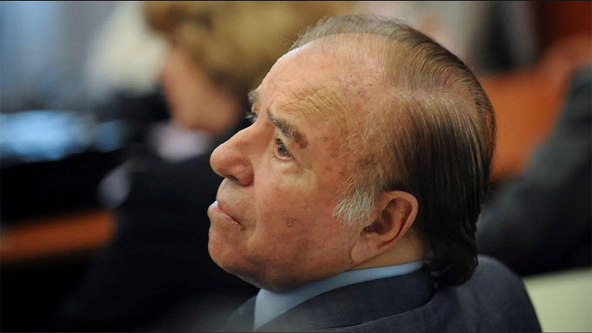 El expresidente y actual senador nacional