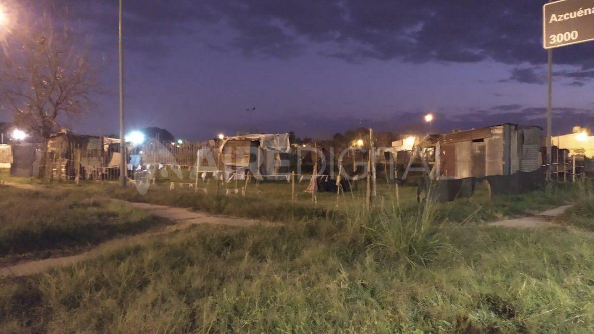 El asentamiento irregular continúa desde hace 4 meses en las mismas condiciones