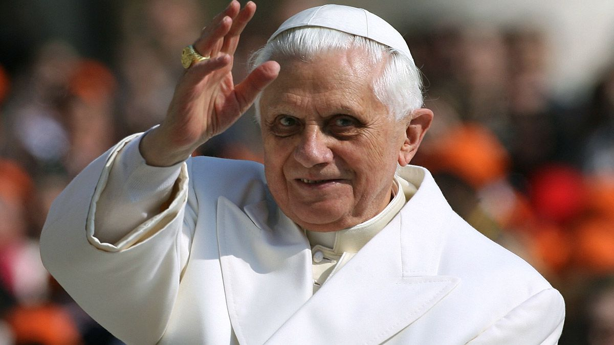 El papa eméritoBenedicto XVI.