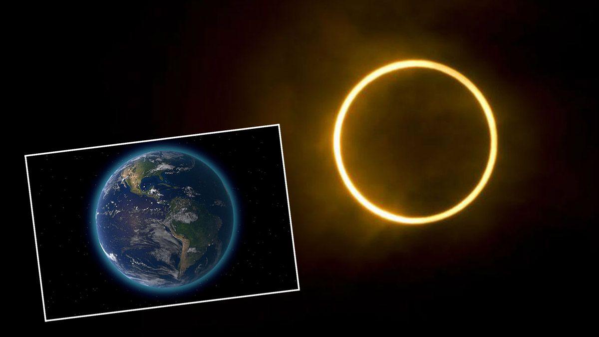 El 21 de junio hubo un eclipse anular de Sol que se vio en parte de Europa y Asia.