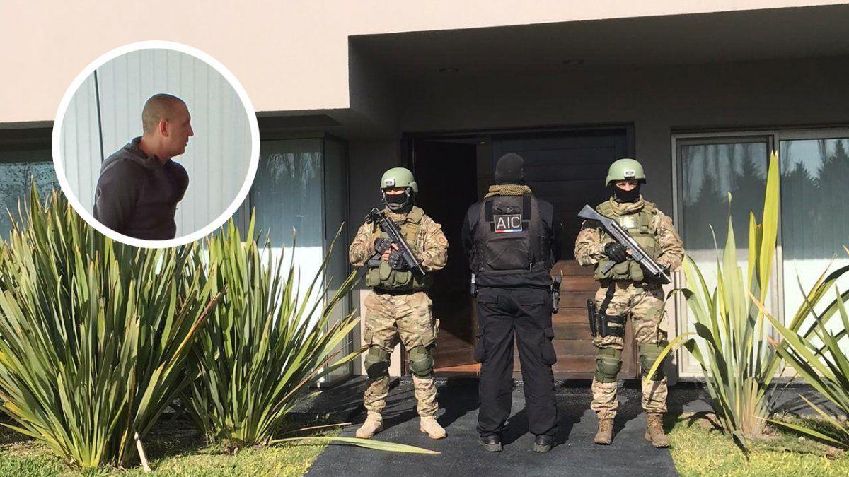 Bracamonte fue detenido por efectivos de la Tropa de Operaciones Especiales en su mansión del country Los Álamos