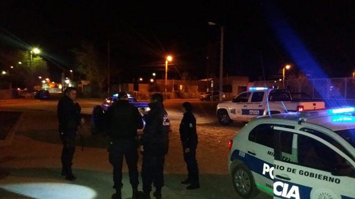 Policía de Comodoro Rivadavia.