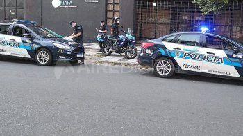 El procedimiento fue ejecutado por agentes de la Policía Federal Argentina tras un llamado anónimo.