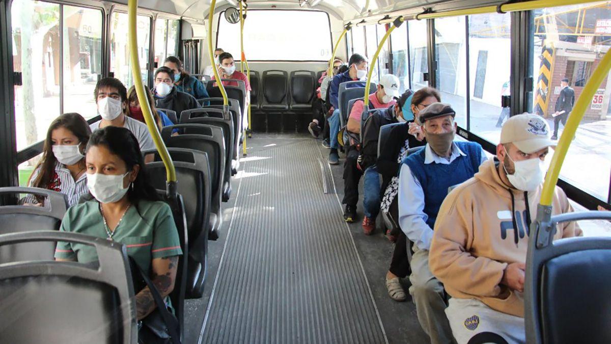 El transporte público sufre las consecuencias de la pandemia.