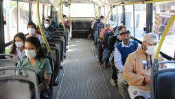 El transporte público sufre las consecuencias de la pandemia. En la ciudad el pasaje es un 25% de lo que debe ser en un época normal.