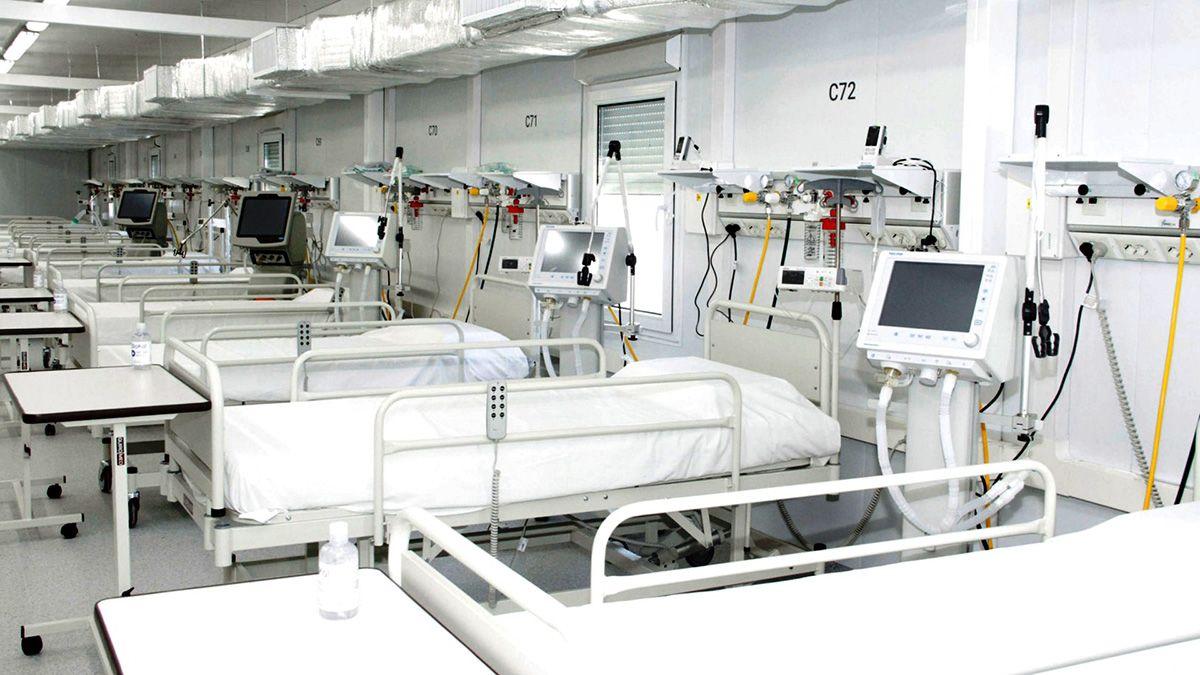 Las camas de terapia intensiva en el país aún no se ocuparon en su totalidad. Sin embargo