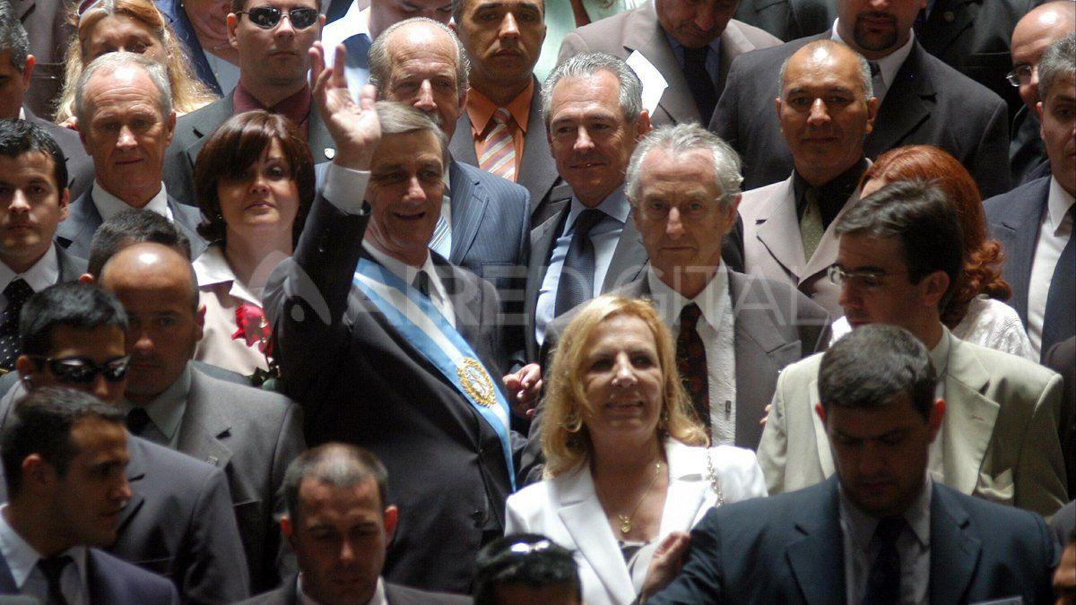 Su vicegobernadora fue Griselda Tessio