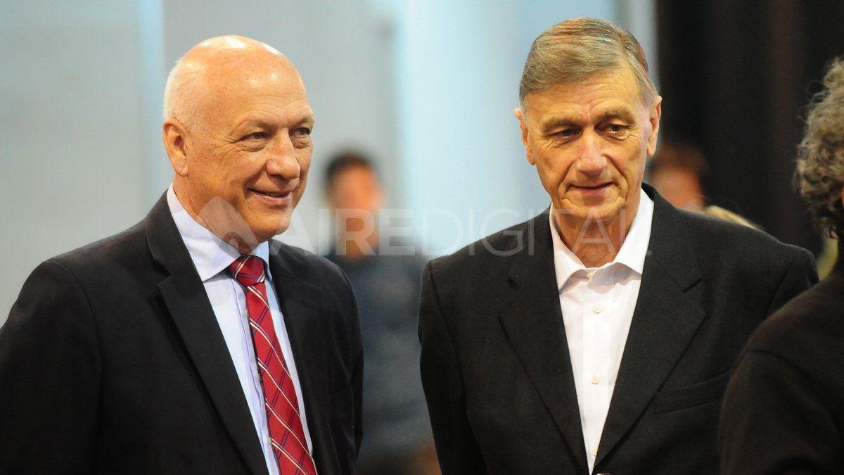 Binner tejió una estrecha relación con el también gobernador Antonio Bonfatti