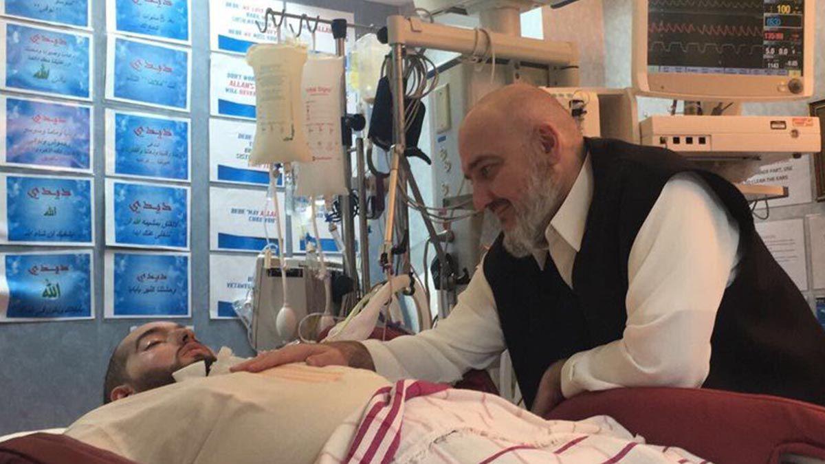 Al Walid bin Jalid Bin Talal al Saud se accidentó cuando tenía 18 años
