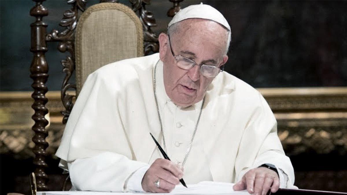 El Papa Francisco se refirió alas explosiones en Beirut.