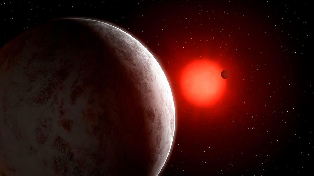 La estrellaGliese 887tiene el sistema planetario compacto más cercano alSistema Solar.