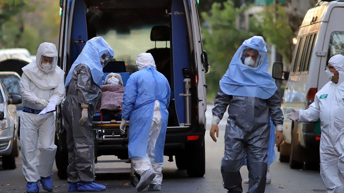 Argentina registró una cifra pico demuertes de coronavirus este lunes.