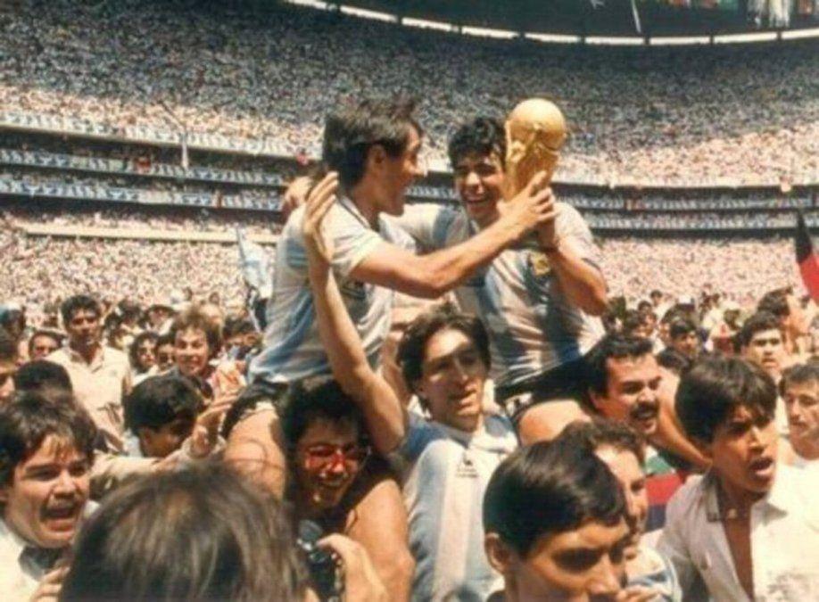 El exjugador de Colón que dio la vuelta olímpica en el mundial 1986: la historia del jugador N°23 de Argentina