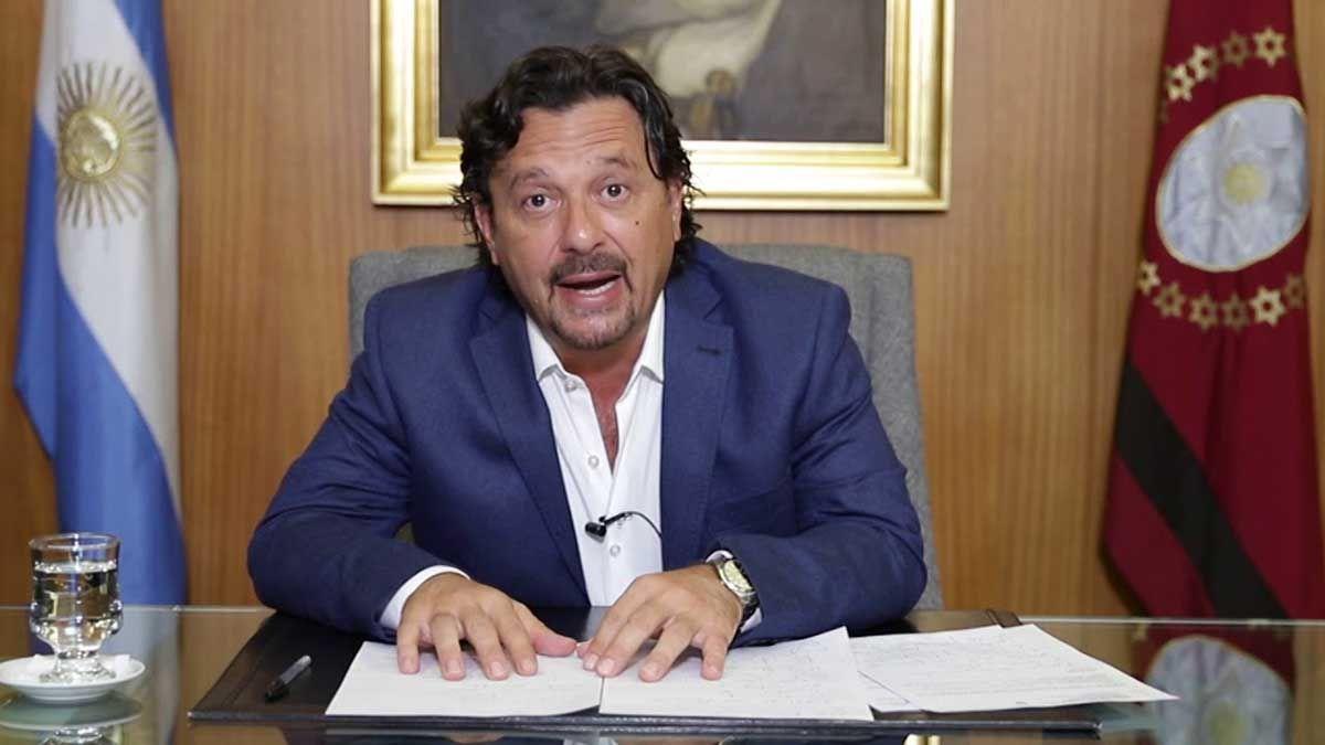 El gobernador deSalta