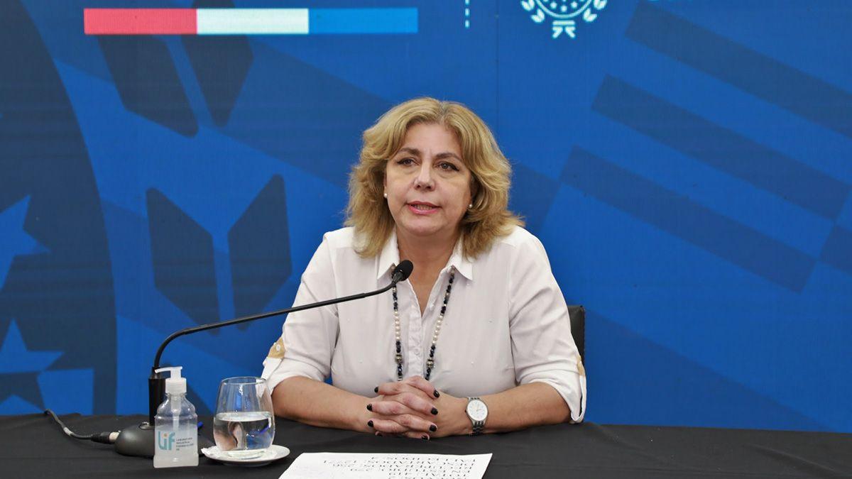 La restricción en los días para reuniones familiares y afectivas fue informada por la ministra de Salud de Santa Fe