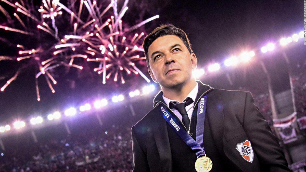El entrenador de River es el objetivo del Valencia para reemplazar a Albert Celades.
