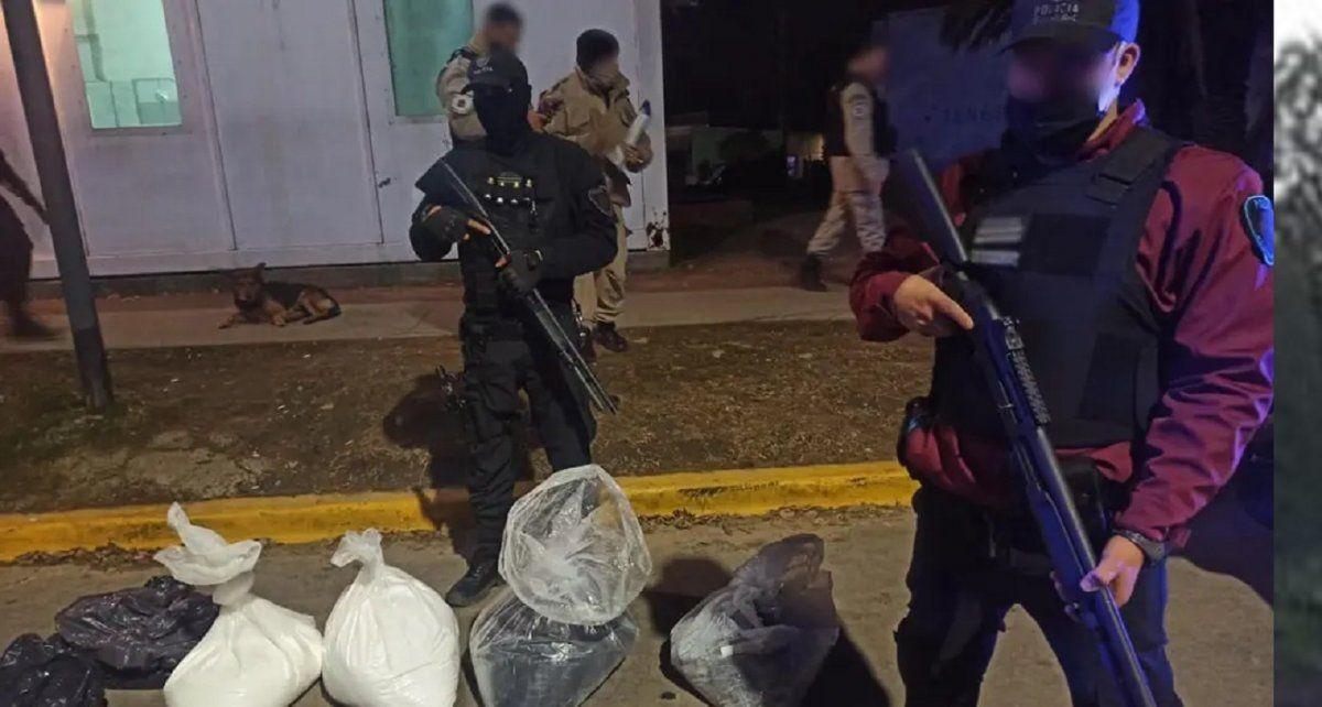 60 kilos de cocaína en Parque Avellaneda