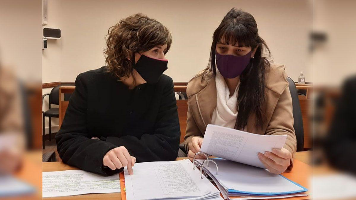 Las fiscales Celeste Minniti y Alejandra Del Río Ayala llevan piden 32 años de prisión para el acusado