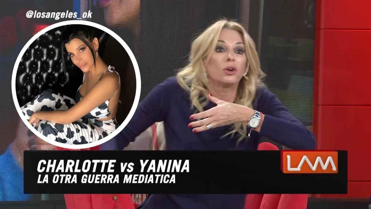Yanina Latorre y Charlotte Caniggia