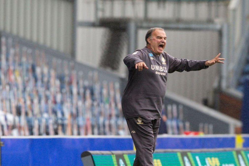 El Leeds de Bielsa venció al Blackburn y está muy cerca del ascenso
