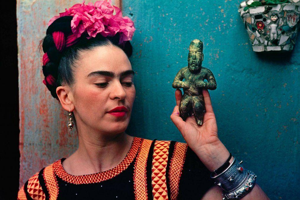 Hoy 6 de julio se cumplen 117 años del nacimiento de Frida Kahlo.
