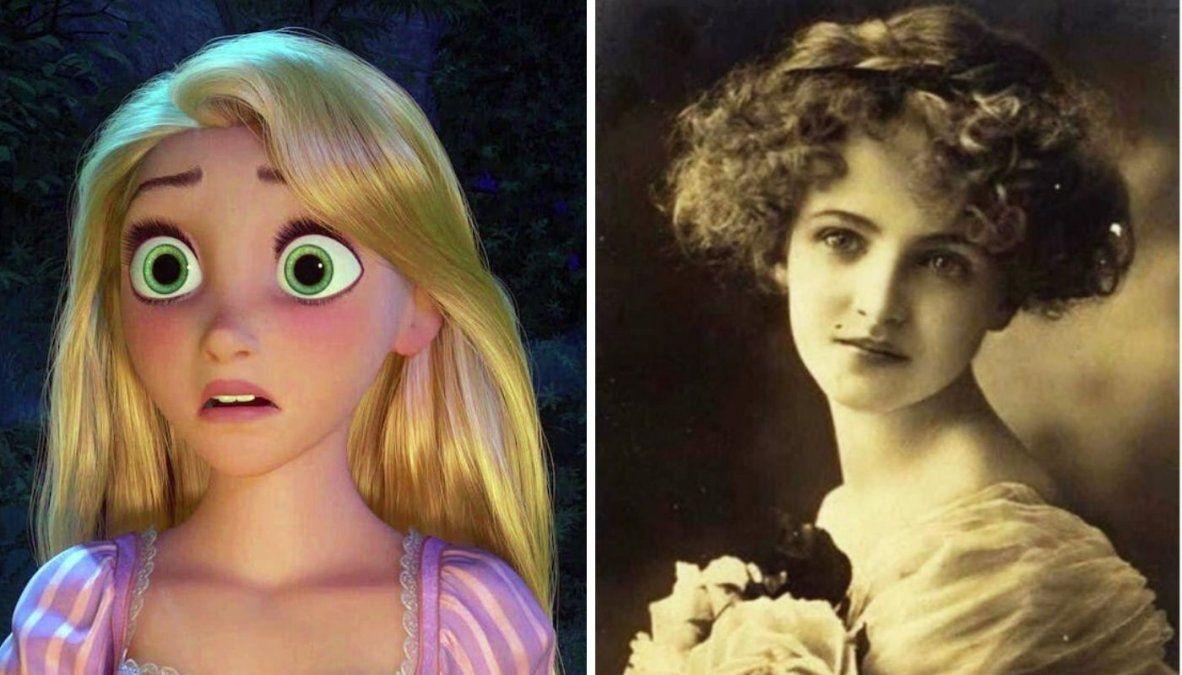 Rapunzel.
