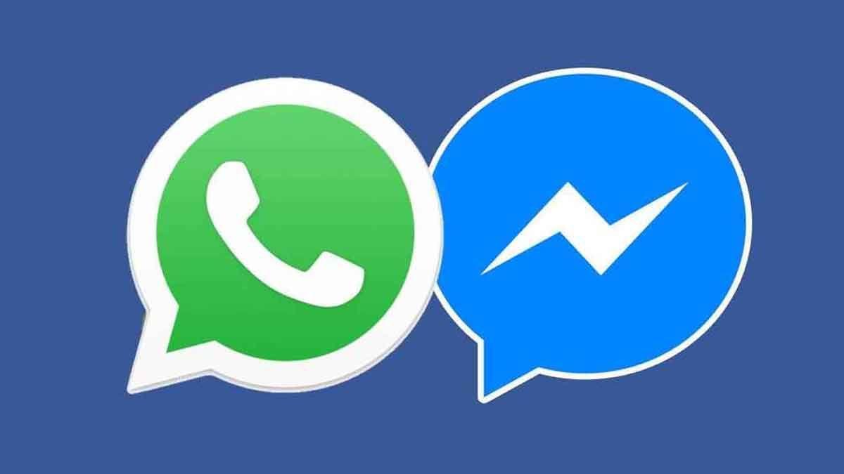 WhatsApp y Facebook Messenger se integrarían en una sola aplicación
