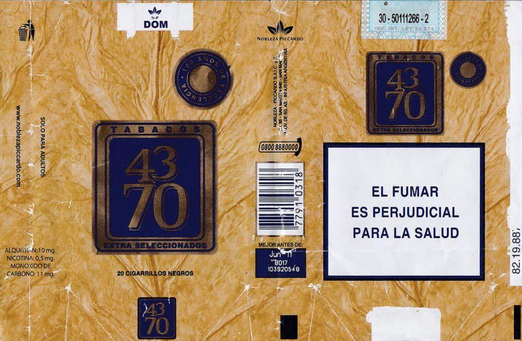 Cigarrilos 4370
