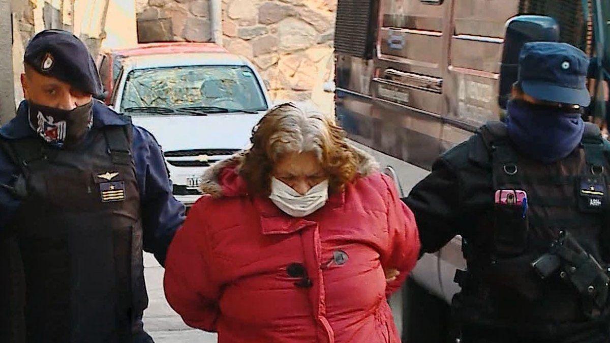 Norma Ortubia tiene 68 años y fue detenida el miércoles