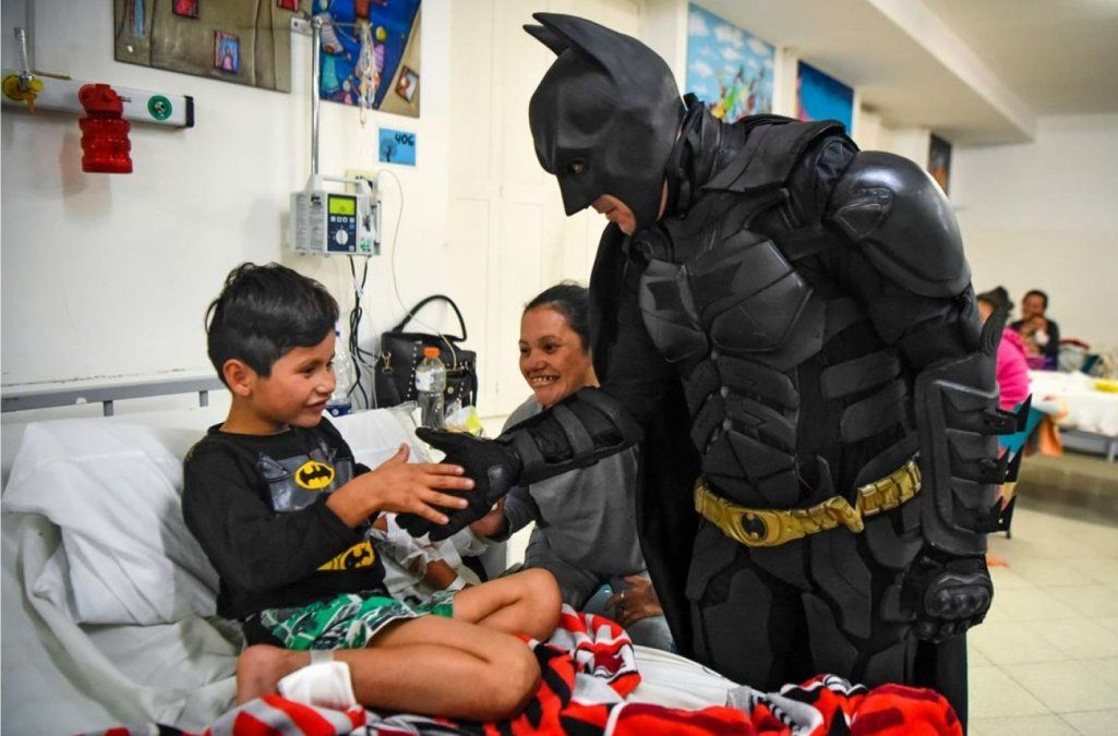 Batman solidario