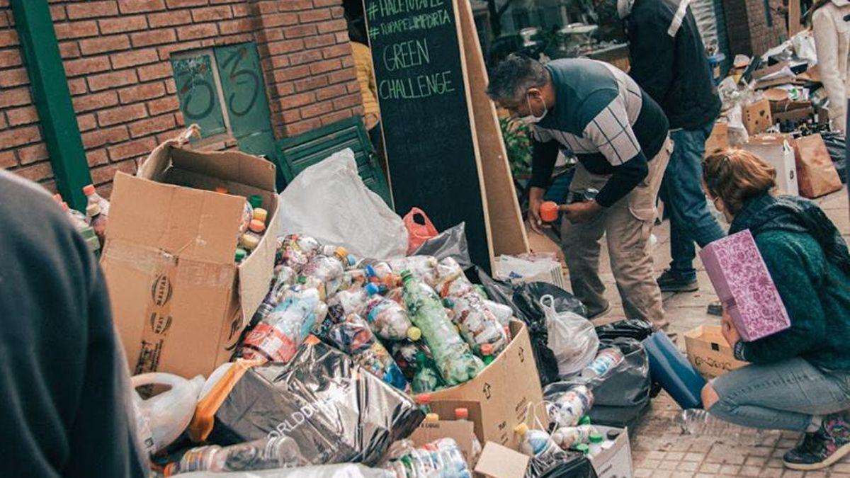 Santa Fe sustentable: recuperaron más de 11 toneladas de residuos para reciclar en solo dos días