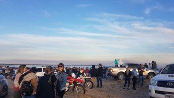 El gobierno dispuso cerrar El Chaquito el fin de semana pasado por la gran cantidad de gente que se concentró durante los últimos meses.