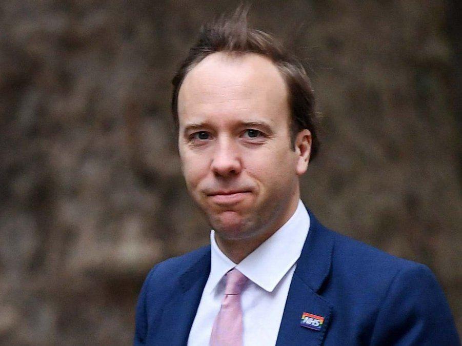 El Ministro deSalud británico