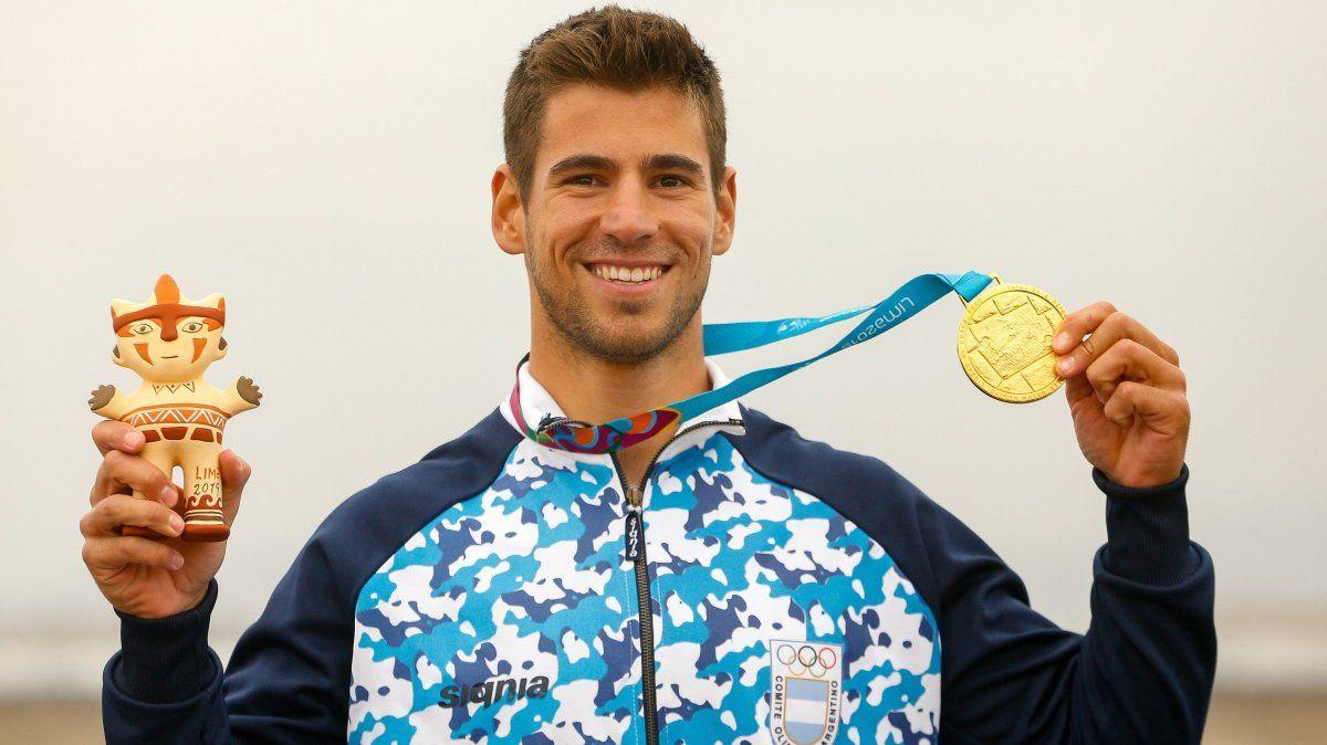 El atleta argentino dio positivo de coronavirus luego de que se sometiera a un segundo test para detectar el virus.