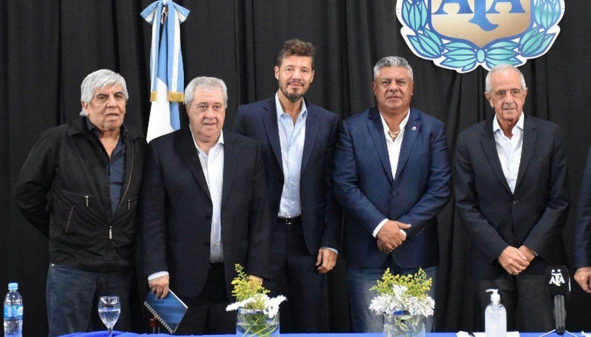 La nueva organización del fútbol de Primera División de Argentina dijo no tener nada definido sobre cómo se jugará post pandemia.