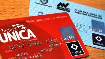 Tarjeta Única de Ciudadanía: se acreditan los fondos de agosto