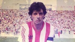 José Antonio Castro, con la camiseta de Unión. Marcó 32 goles en 74 partidos (0,43 x encuentro).